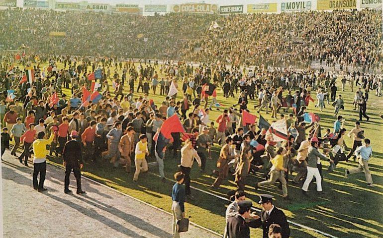 La Cagliari che non c'è più: 12 aprile 1970, all'Amsicora si scatena la festa per lo scudetto