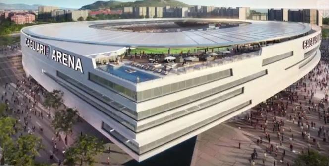 Nuovo stadio del Cagliari: vince il progetto di Sportium dell'archistar David Manica
