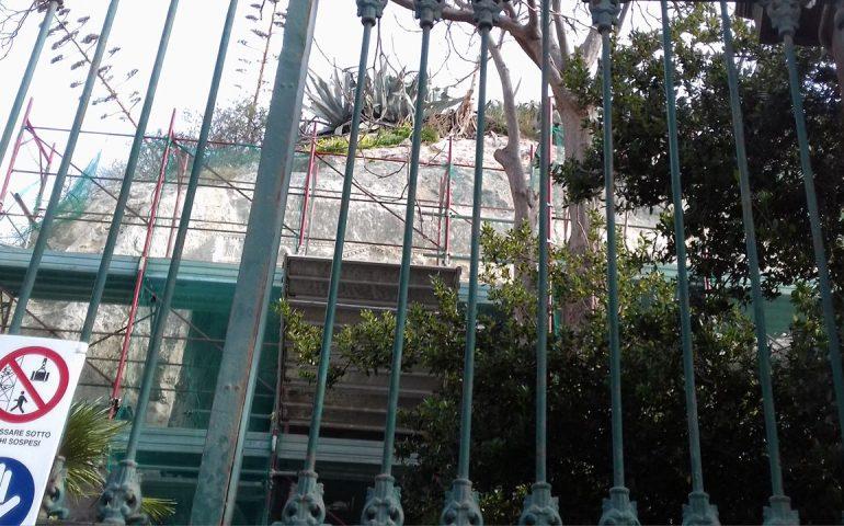La Grotta della Vipera ancora chiusa al pubblico per lavori di restauro, incerta la data della riapertura