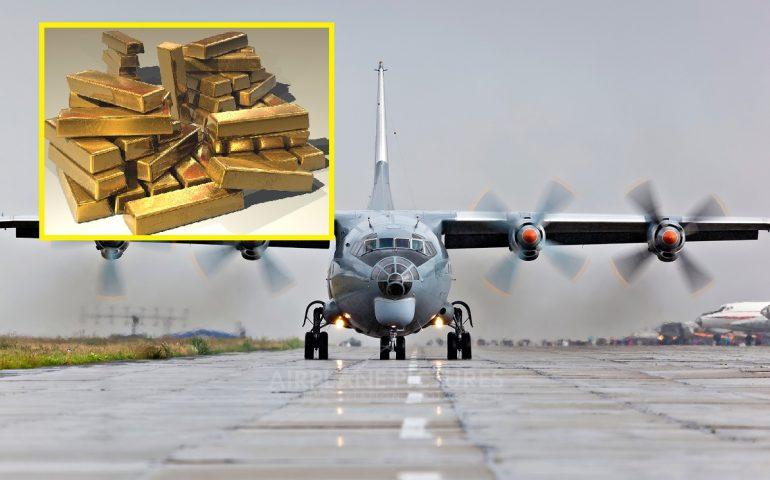 Si rompe il portellone, aereo perde 171 lingotti d'oro