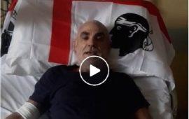 Roberto Zanda prima dell'operazione
