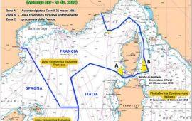 Trattato di Caen confini mare italia Francia