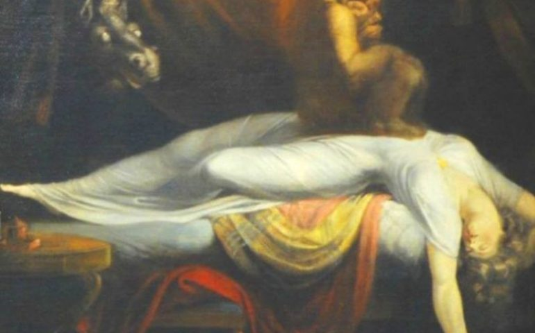 Leggende sarde: S'Ammutadori, il demone del sonno che toglie l'aria e paralizza la sua vittima