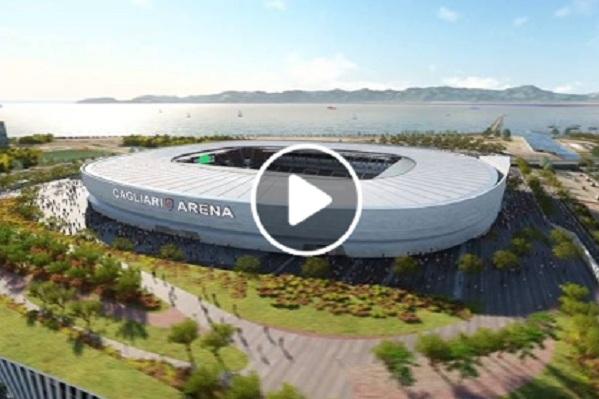 (VIDEO) Ecco come sarà il nuovo stadio del Cagliari secondo il progetto vincitore di Sportium