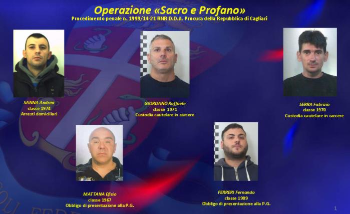 """""""Sacro e profano"""": scoperto maxi traffico di droga tra Barcellona, Torino, Cagliari e Sassari"""