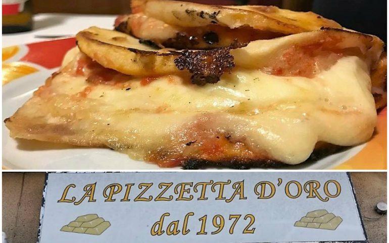 """""""La Pizzetta d'Oro"""", quando unapizza diventa patrimonio cittadino. Storia di un mito cagliaritano"""
