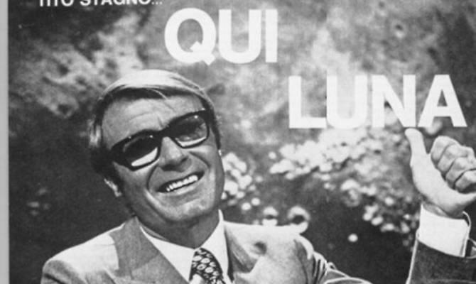 Sardi famosi: Tito Stagno, 50 anni fa condusse alla Rai lo storico sbarco sulla luna