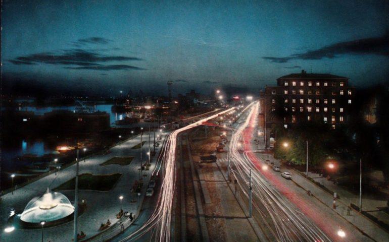 La Cagliari che non c'è più: via Roma by night nel 1969