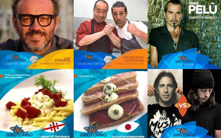 Tutto pronto a Carloforte per il Girotonno 2018: parata di chef stellati da tutto il mondo e Piero Pelù sul palco