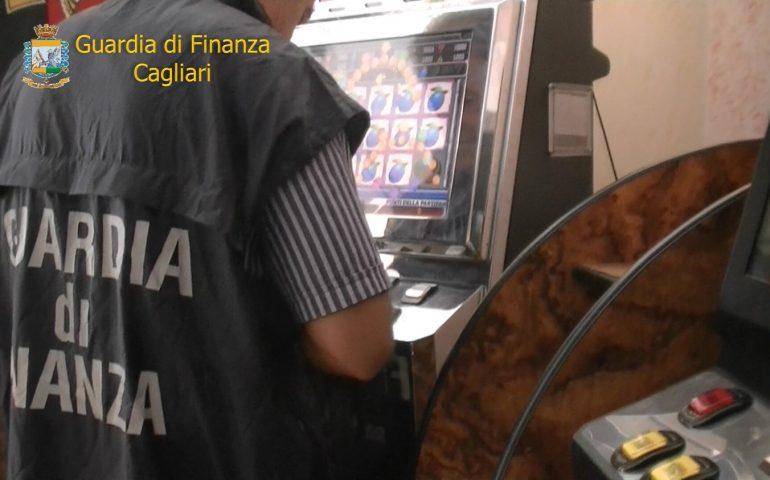 Sequestrati 6 videopoker irregolari tra Cagliari e basso Sulcis