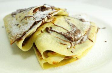 La ricetta Vistanet di oggi: crepes alla nutella, un piatto goloso che piace a molti