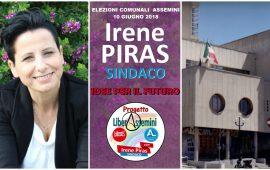 Assemini al voto. Irene Piras candidata a sindaca della lista LiberAssemini presenta i 3 provvedimenti dei primi 100 giorni