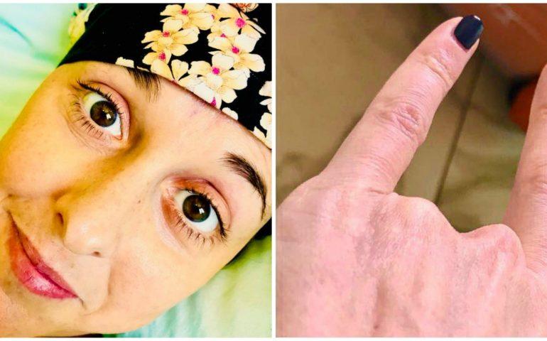 Risultati immagini per nadia toffa corna