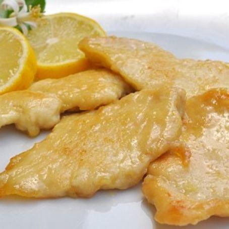 La ricetta Vistanet di oggi: scaloppine al limone, un piatto velocissimo da preparare e che piace ai bambini