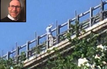 Tragedia a Chieti: lancia la figlia dal viadotto e poi si butta. Di mattina la compagna era precipitata dal balcone