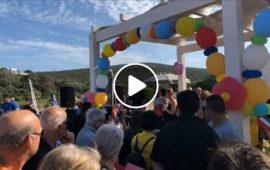 (VIDEO) A Maladroxia, Sant'Antioco, è stata inaugurata la prima spiaggia in Sardegna per i malati di Sla
