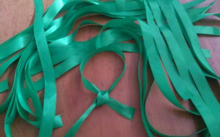 Lo sapevate? Il braccialetto verde contro il malocchio rappresenta simbolicamente il prezzemolo: un porta fortuna