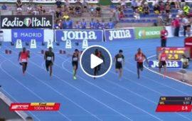 (VIDEO) L'atleta di origini sarde Filippo Tortu supera Mennea e corre i 100 m in 9″99