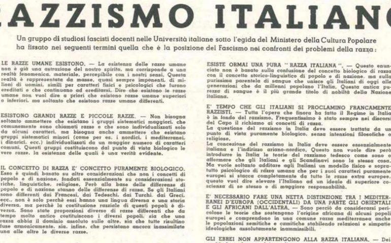 """Accadde oggi. Il 15 luglio 1938 fu pubblicato il """"Manifesto della Razza"""": tra i firmatari c'era anche un sardo"""