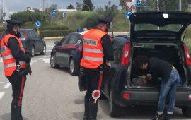 Controlli dei carabinieri nelle strade del Sulcis: multe, denunce e sequestri