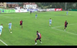 Il Cagliari dilaga nell'amichevole contro la Rotaliana: 9-0 nel primo test del ritiro di Pejo