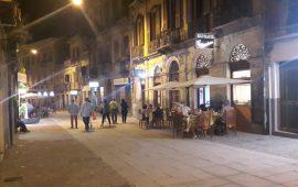 Corso Vittorio Emanuele, tavolini anche nel secondo tratto. Soddisfatti i proprietari dei locali