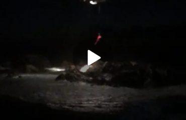 Porto Cervo naufraghi salvati con elicottero