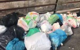 Rifiuti abbandonati: intervento di pulizia straordinario a Sant'Elia