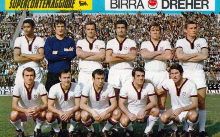 Lo sapevate? La più larga vittoria del Cagliari con il Milan avvenne nel 1969: 3-1 all'Amsicora