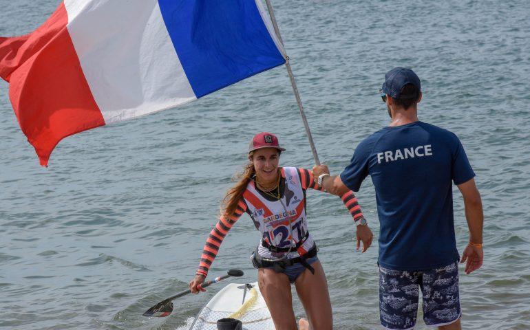 (FOTO) Stand Up Paddle: a Torregrande la prima storica tappa italiana del campionato europeo. Vince la Francia
