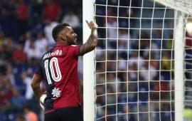 Joao Pedro contro il Milan