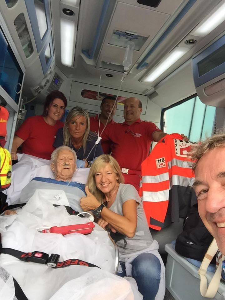 Foto dalla pagina FB Croce Rossa-Ivrea