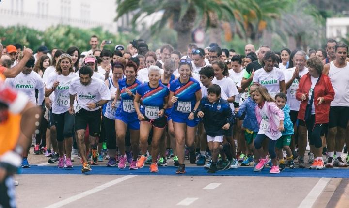 Manca un mese alla Karalis 10: la maratona contro il cancro, contro il dolore per una vita migliore