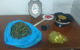 marijuana sanluri carabinieri