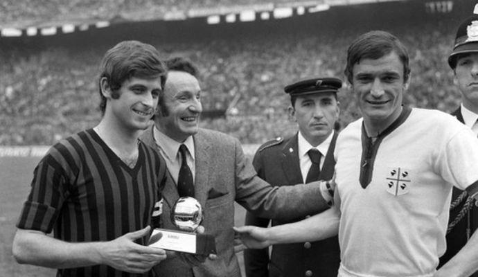 Lo sapevate? Gigi Riva sfiorò il Pallone d'Oro due volte: nel 1969 e nel 1970