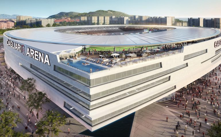 Il Cagliari sceglie l'azienda che costruirà lo stadio: è l'italiana Costim. Lavori conclusi nel 2024