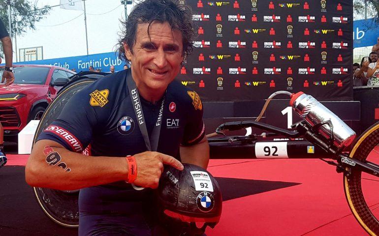Nuovo record mondiale per Alex Zanardi. Quinto assoluto, supera anche i normodotati