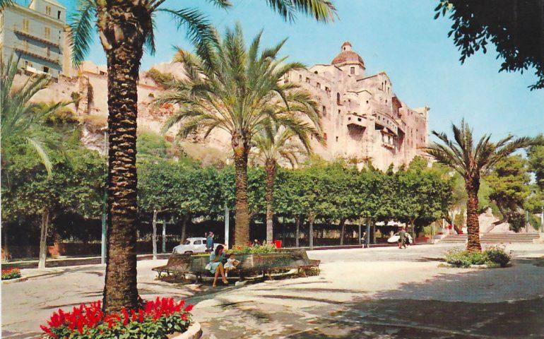 La Cagliari che non c'è più: i giardini del Terrapieno nel 1971