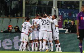 Pavoletti ferma la Fiorentina: al Franchi il Cagliari pareggia 1-1