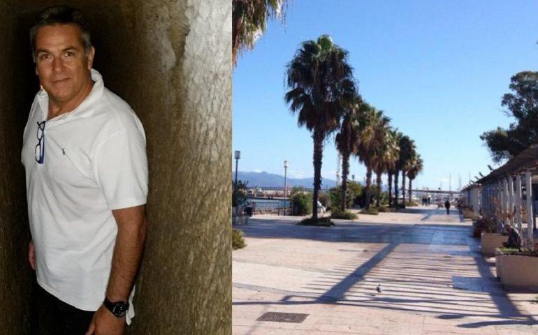 Tragedia a Marina Piccola: noto ginecologo cagliaritano muore mentre faceva jogging