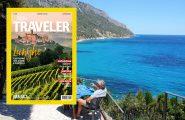 La Sardegna protagonista con l'Ogliastra su Traveler, la rivista del National Geographic