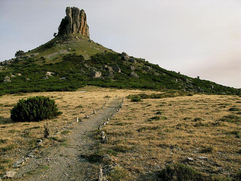 Perd'e Liana, vicino al Monte Arquerì