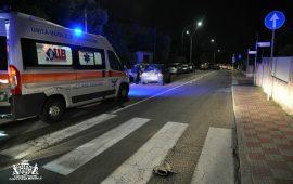 Pirri: auto travolge una donna che attraversa sulle strisce pedonali
