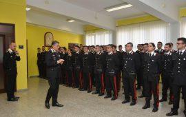 Assegnati alla Legione Carabinieri Sardegna 90 Carabinieri e 20 Marescialli