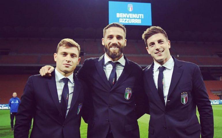 Convocazioni per l'Italia: i rossoblù Cragno, Barella e Pavoletti in azzurro