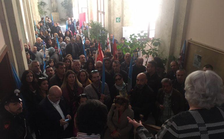 """Lavoratori del portierato universitario in rivolta: """"300 euro in meno ogni mese. L'Università se ne faccia carico"""""""