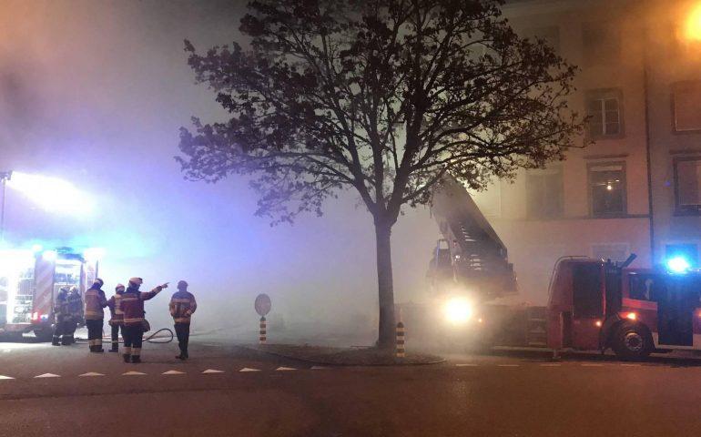Fiamme nella notte in Svizzera: sei morti, tra cui alcuni bambini