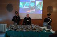 (VIDEO) Operazione antidroga a Orani: 23 chili di marijuana nell'ovile di un allevatore 62enne