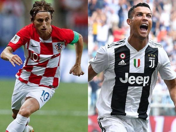 Il croato del Real Madrid Luka Modric è il nuovo Pallone d'Oro. Secondo Ronaldo