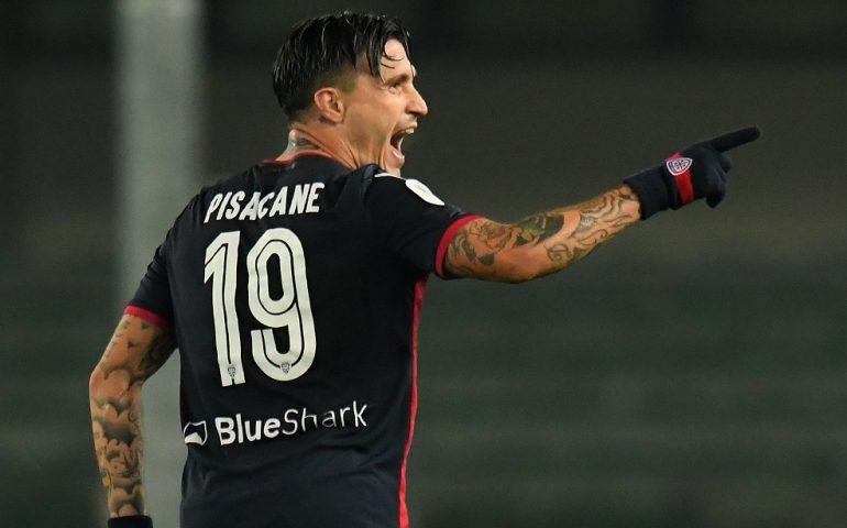 Il Cagliari si guadagna gli ottavi di Coppa Italia: Cerri e Pisacane per il 2-1 al Chievo